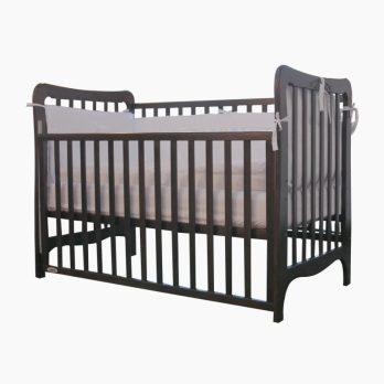 Patut din lemn pentru bebelusi copii Ema Maro