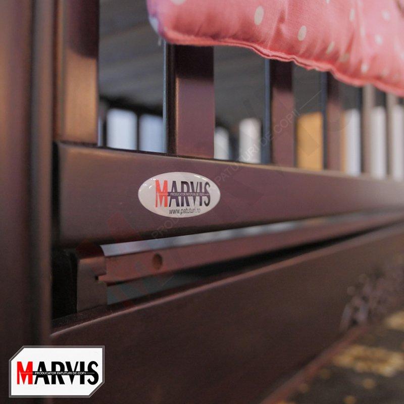Patut bebe Marvis sculptat