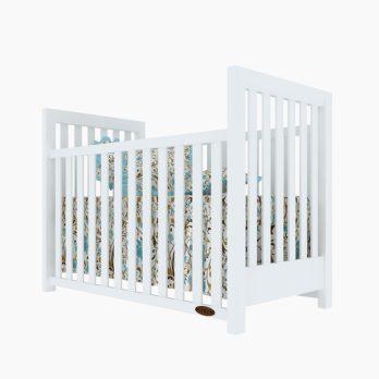 Patut bebelusi copii lemn Sofia alba