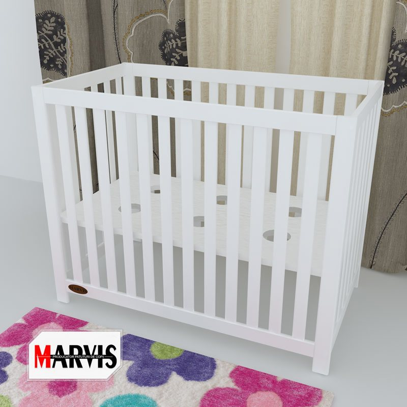 Patut bebelusi / copii lemn Stefanel