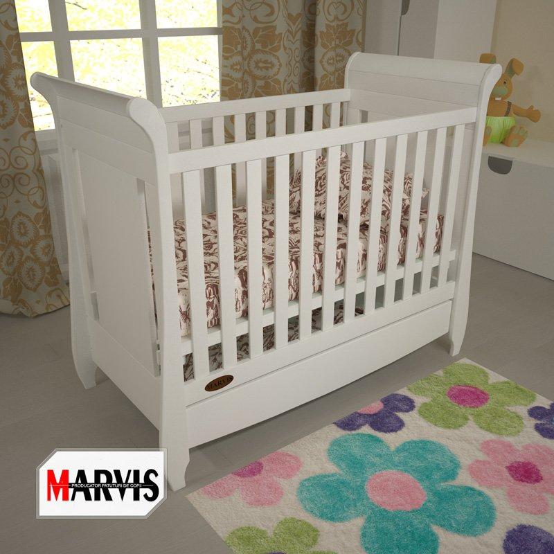 patut bebe alb produs de marvis