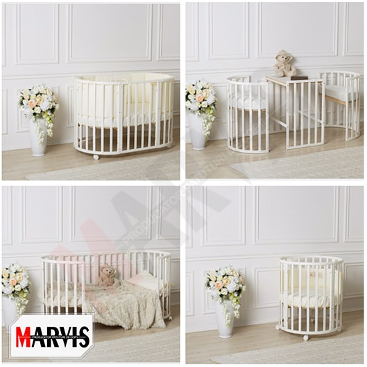 Patut bebelusi / copii lemn Mon Amie