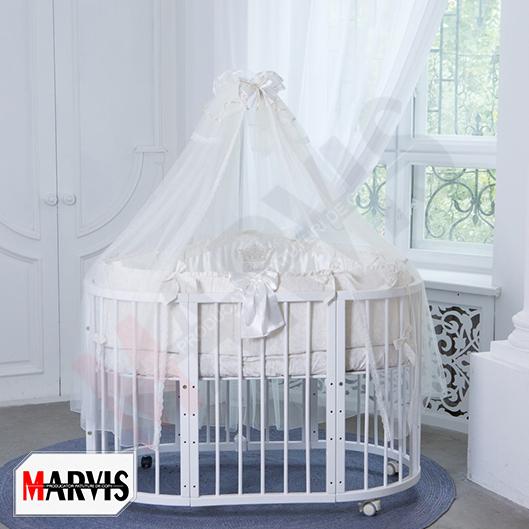 Lenjerie Patut Bebe / Copii 10 piese Baby Ivory