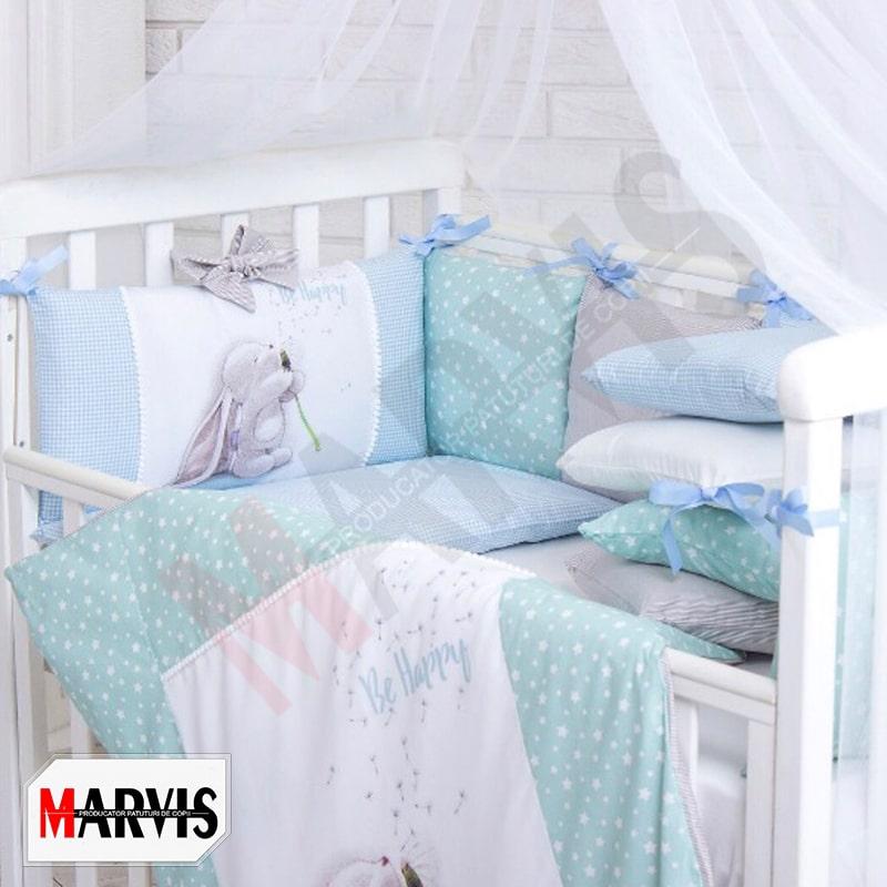 Lenjerie cu imprimeu bebelusi