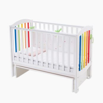 Patut bebelusi copii lemn Rainbow