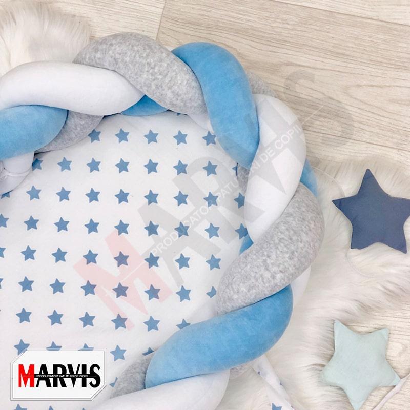 Baby nest albastru