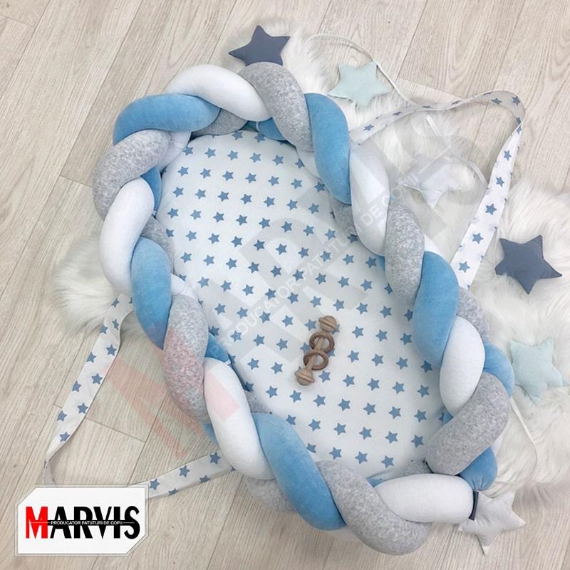 Baby Nest Braid Blue