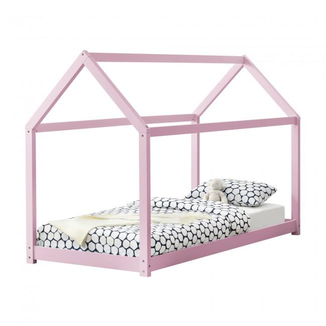 Pat copii Keira roz 206 x 98 x 142 cm