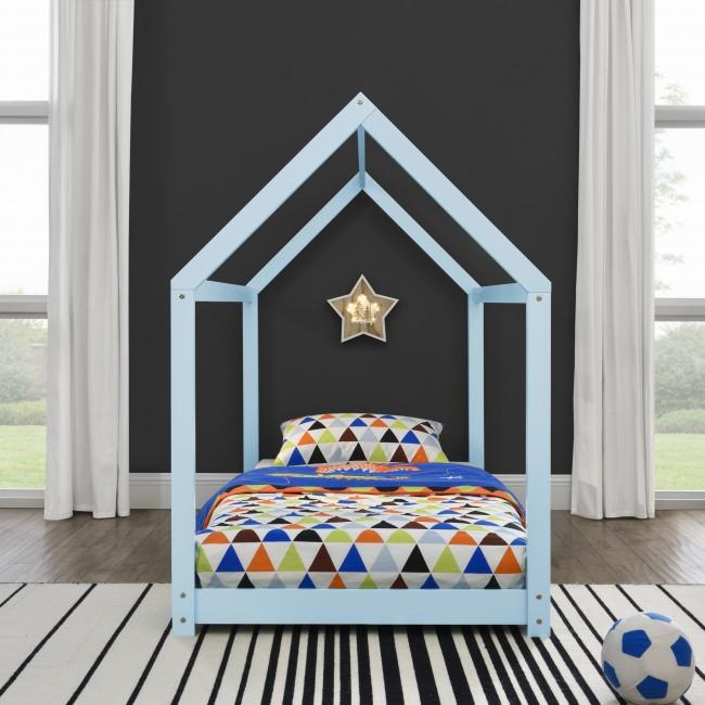 pat de copii stil casa