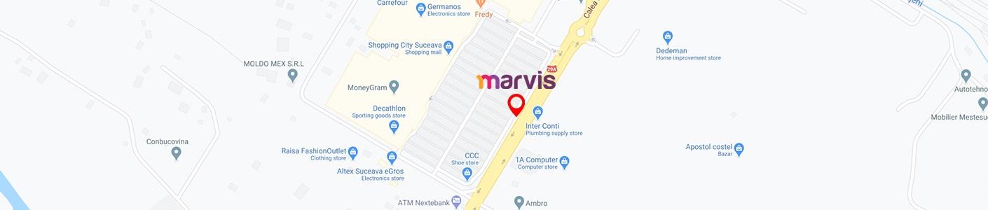 Locatie Showroom Marvis
