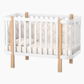 Patut bebe copii lemn Maia natur
