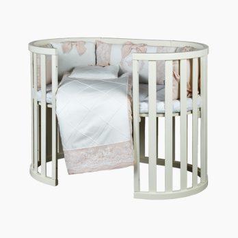 Patut bebelusi copii lemn Mon Amie fildes