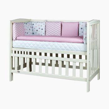 Patut din lemn pentru bebelusi copii Alex fildes