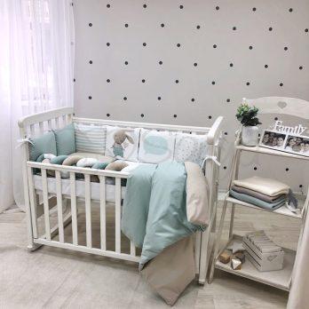 Lenjerie Patut Bebe Copii 6 piese Bunies